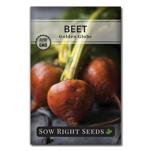 golden beet seed packet front