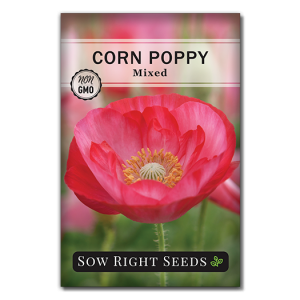 Mixed Corn Poppy seed packet front