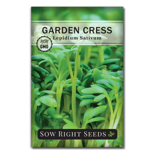 cress seed packet front