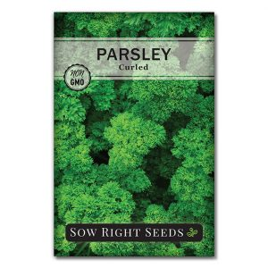 Parsley Curled Seed Packet Front