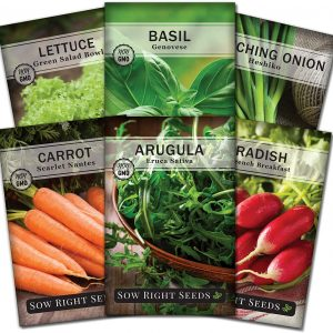 classic garden seed collection