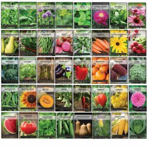 complete garden seed collection